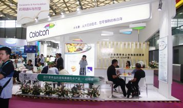 Photo of colorcon booth at CPhI China 2018