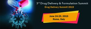 3rd World Drug Delivery and Formulations Summit @ Yet to Confirm
