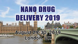 13th Edition of International Conference on  Nanomedicine and Advanced Drug Delivery @ London, UK