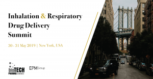 Inhalation & Respiratory Drug Delivery 2019 @ Crowne Plaza Times Square