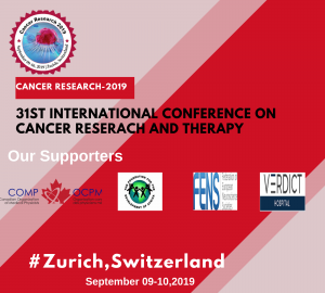 31st International conference on Cancer Research and therapy @ Mövenpick Hotel Zürich Regensdorf
