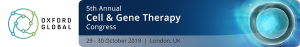 Cell & Gene Therapy Congress, 29 - 30 of October 2019 in London, UK. @ Novotel London West