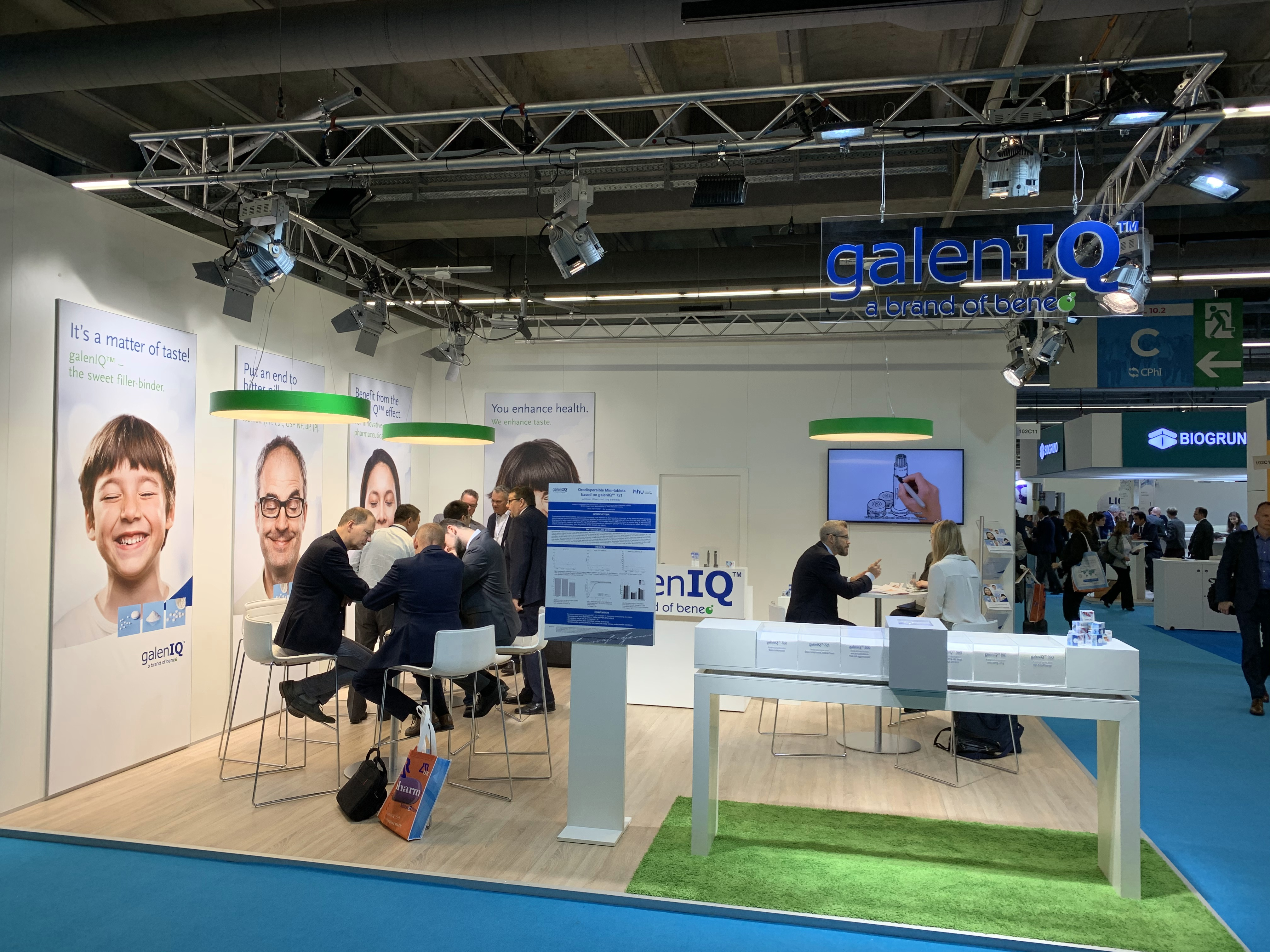 Impressions from the excipients hall at CPhI 2019 in Frankfurt