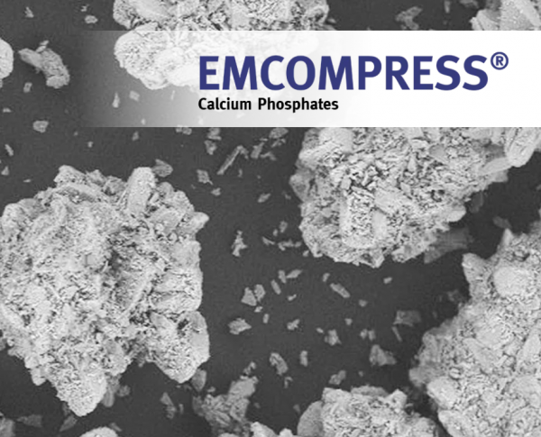 Emcompress excipient JRS Pharma